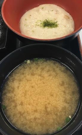 吉野家HD 麦とろ牛皿御膳 麦めしと味噌汁