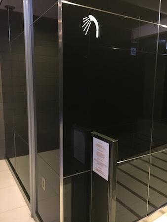 羽田空港国際線ANAラウンジ シャワールーム