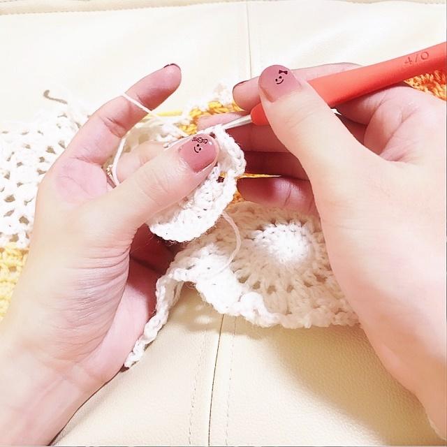 手編み雑貨 HanahanD ハロウィン ジェルネイル セルフネイル