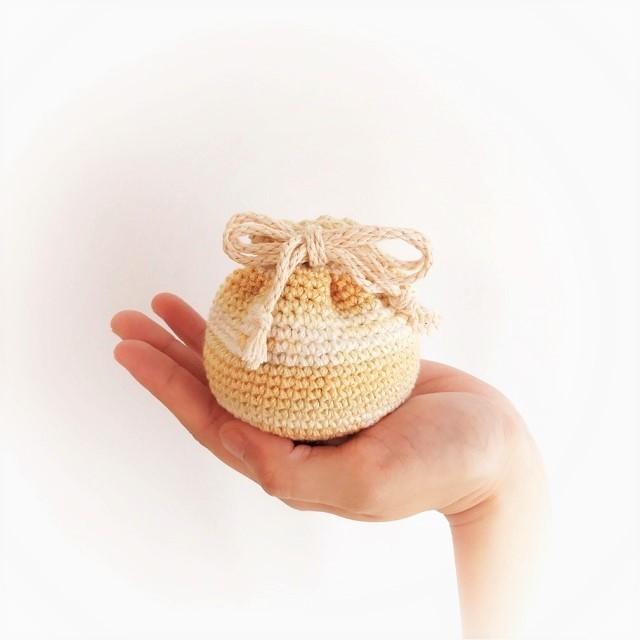 手編み雑貨 HanahanD 巾着 巾着袋 ケース ポーチ