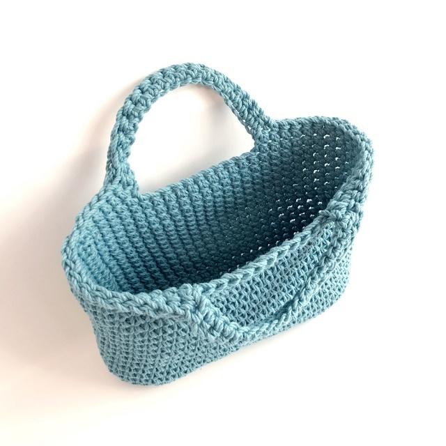 HanahanD 手編み雑貨 ハンドバッグ 手編みバッグ