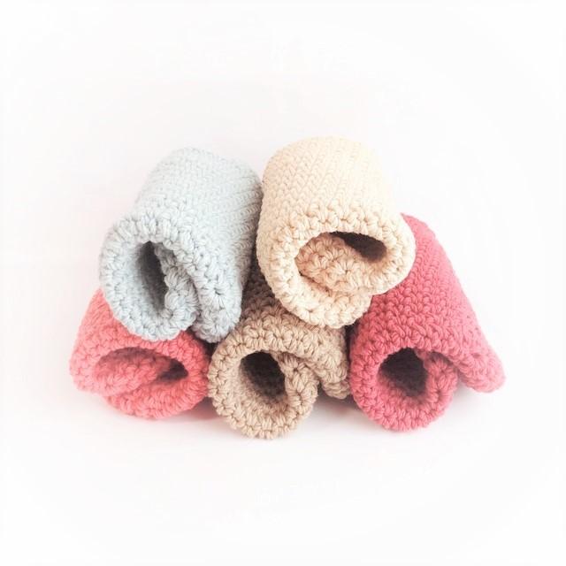HanahanD 手編み雑貨 ブローチ マーガレット レース