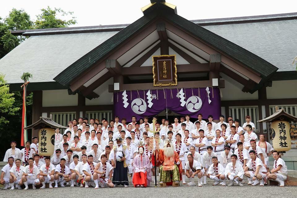 岩内神輿会2017