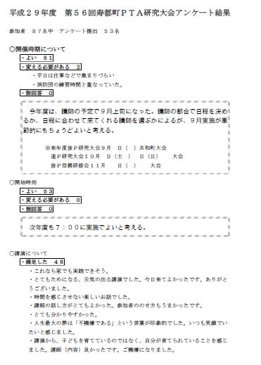 寿都アンケート1