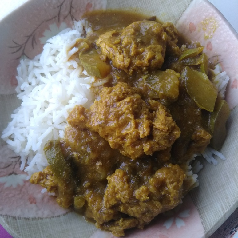 Curry and basmati rice 20170711