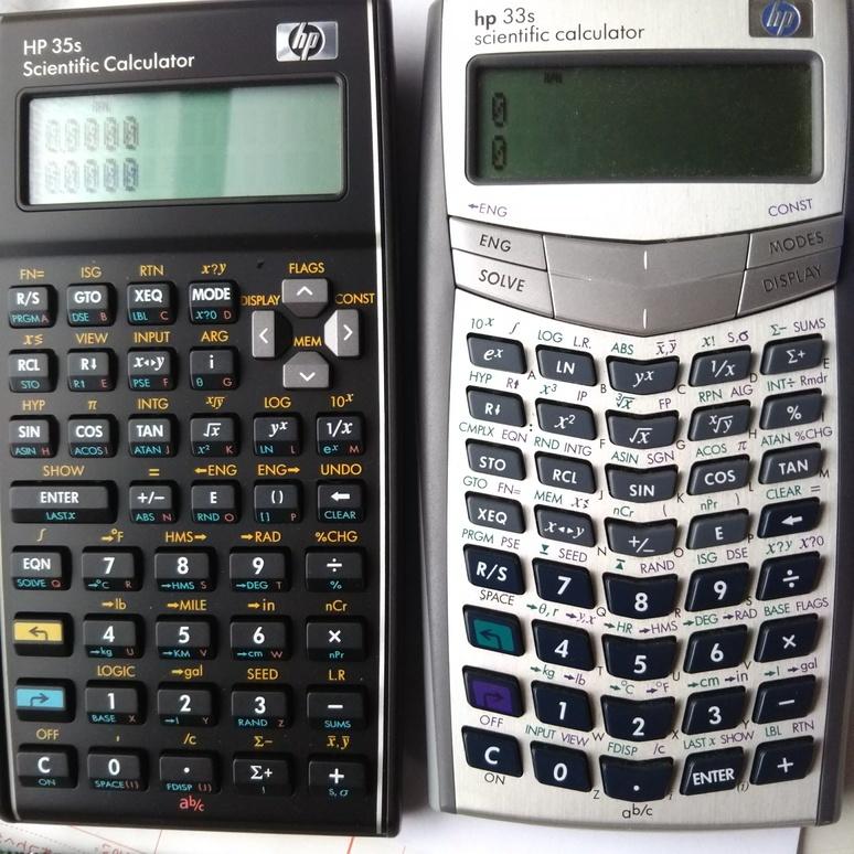 HP calculators 20170915