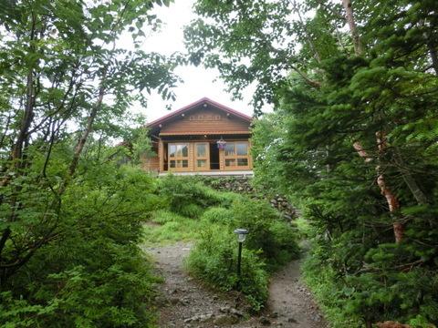 赤石岳小屋