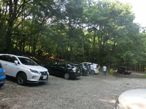 裂石駐車場