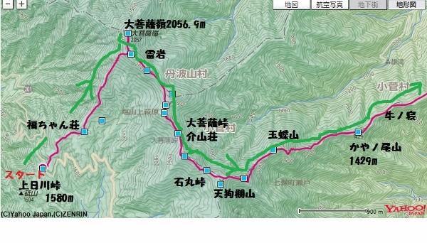 20170903大菩薩嶺-小菅の湯 前半 (600x342)