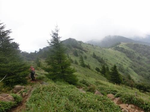 大菩薩峠までの稜線