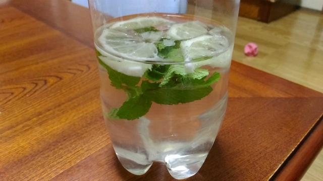 レモン&ミント水