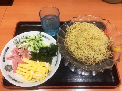 170509日高屋荻窪北口店黒酢しょうゆ冷し麺510円