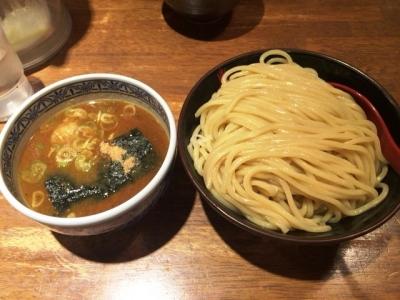 170518三田製麺所梅田店つけ麺790円が500円つけ麺(大)400g