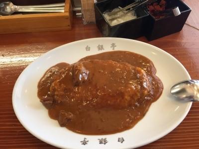 170529白銀亭カレーライス750円