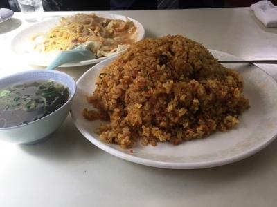 170615食道楽カレー炒飯(大)650円横から