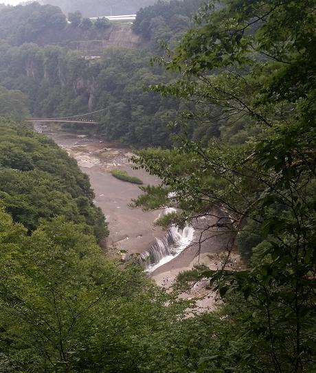 吹割の滝35