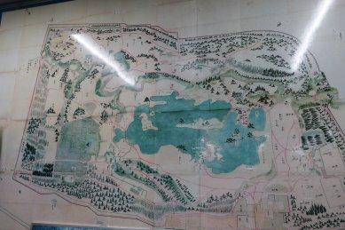 加賀藩下屋敷地図