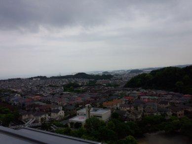 マンション屋上からの眺め