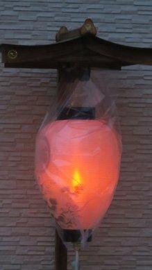 ご近所の盆提灯