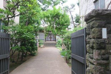 誓教寺(北斎墓)