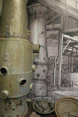 川口文化財センター・キューポラの図