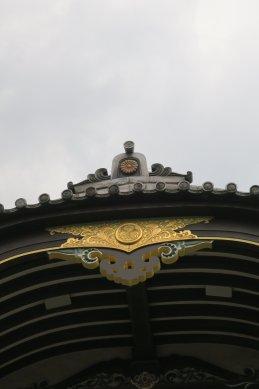 三つ葉葵の紋