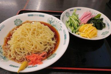 黒酢しょうゆ冷し麺@510円