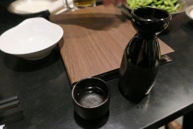 ルーチンの日本酒一合