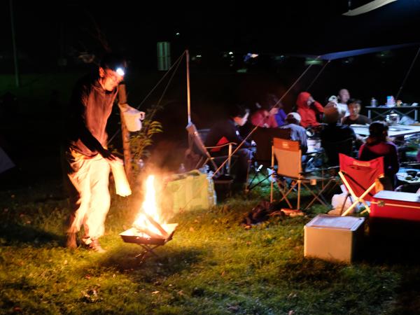 スキレットと焚き火のキャンプ07