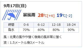 9-17天気