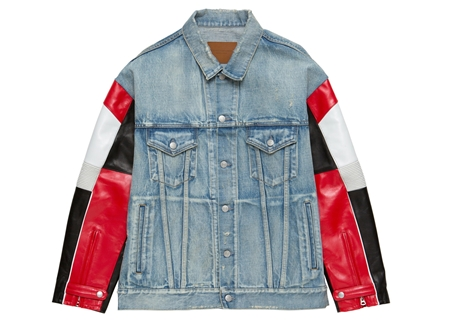 MGL-OT14 MOTOCROSS DENIM JACKET CRUSHテ由ED MIX_R