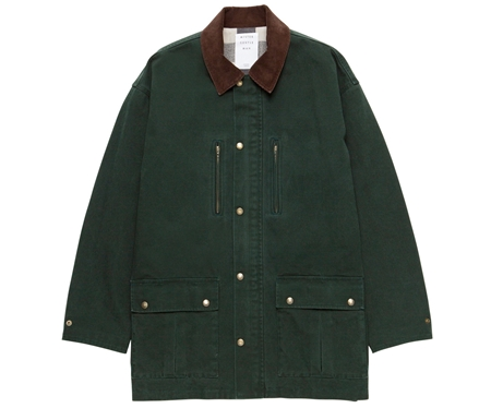 MGL-OT12 FIELD COAT GREEN_R