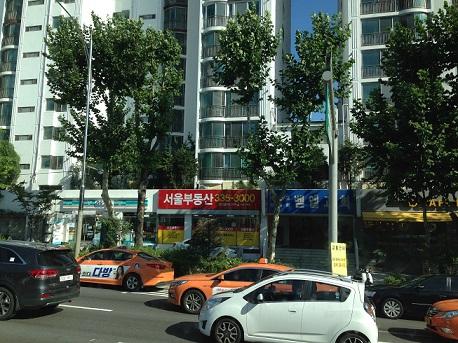 韓国街並み