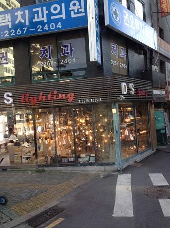 韓国照明店