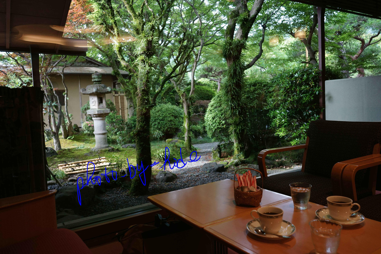 嵐山花の家朝食珈琲