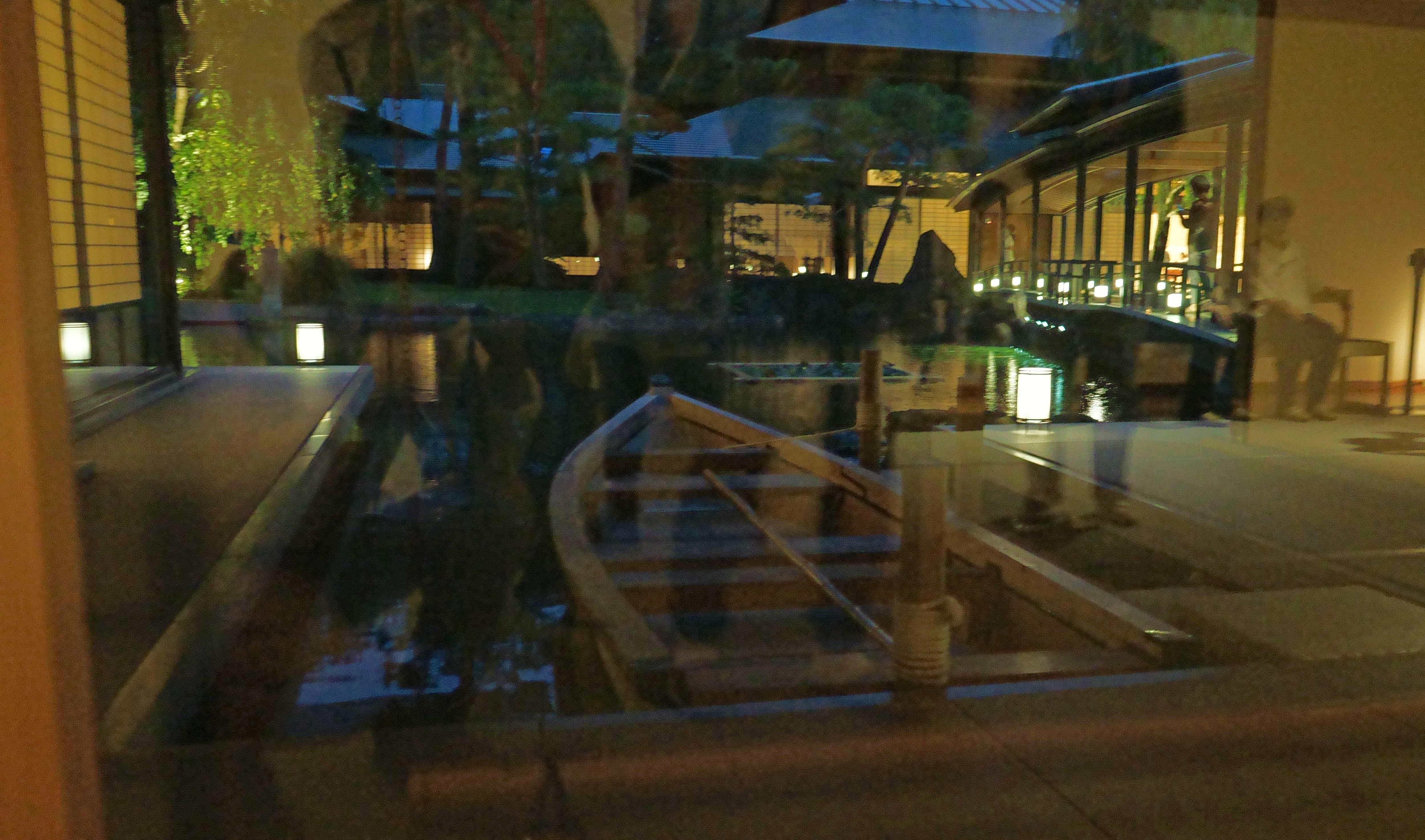 迎賓館池舟