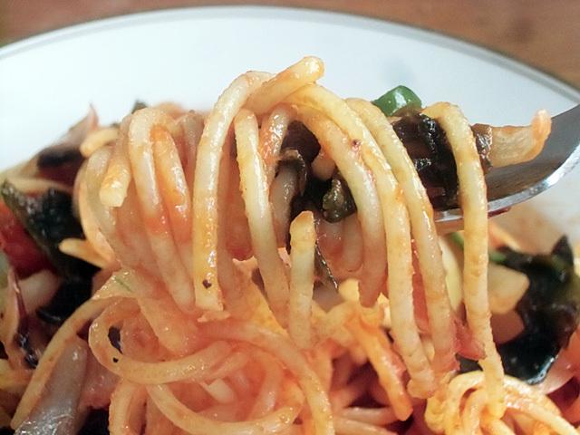 ケチャップのスパゲティは最強です