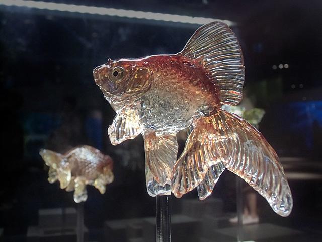 金魚のあめ細工