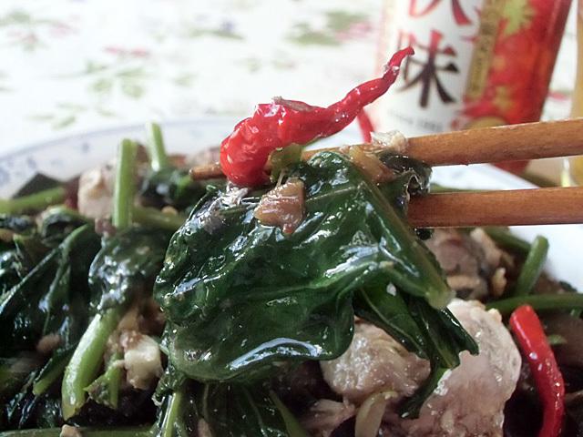 とける青菜