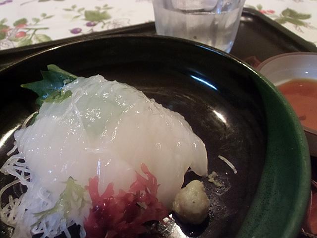 白イカの刺身