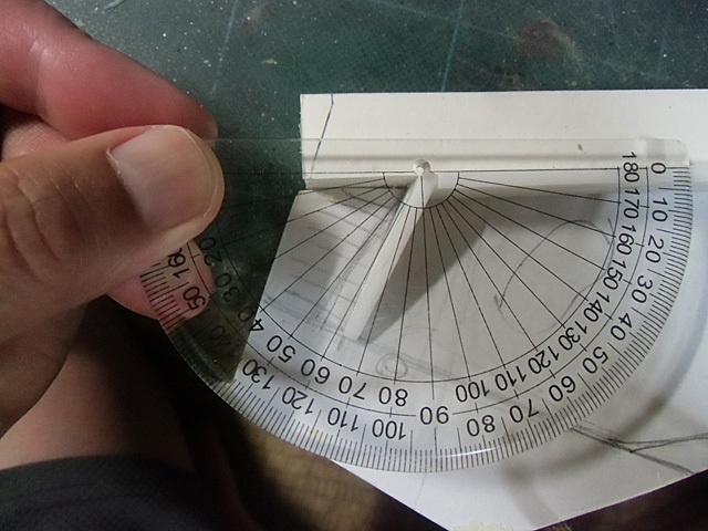 角度を測る