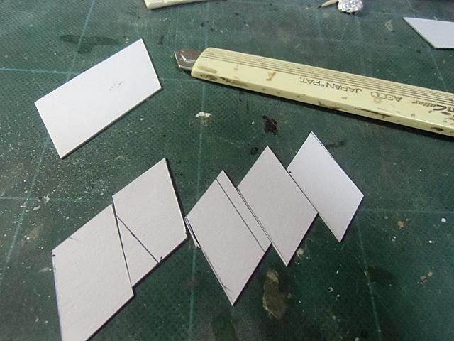 厚紙を切り抜く