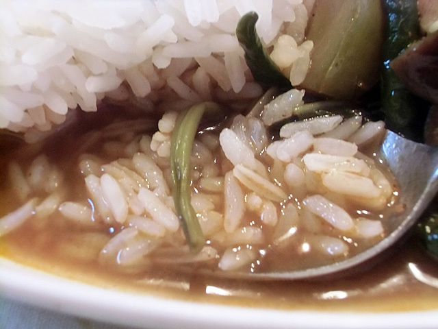 サラサラのお米です