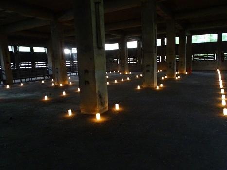 赤平炭鉱浴場灯り (3)