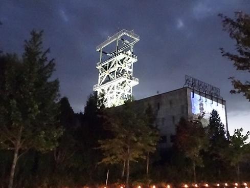 赤平炭鉱浴場灯り (10)