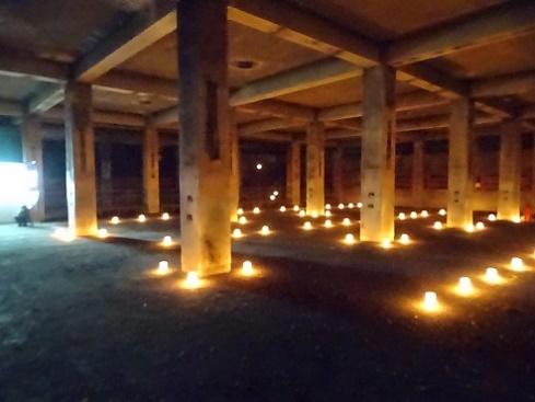 赤平炭鉱浴場灯り (17)