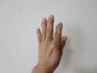 手のポーズ3
