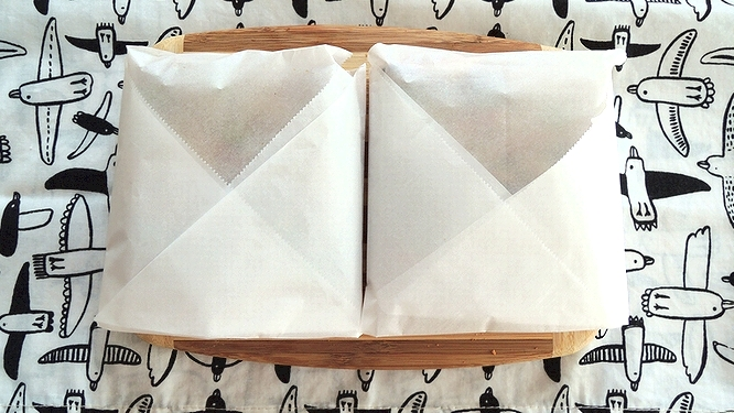 トーストの包装