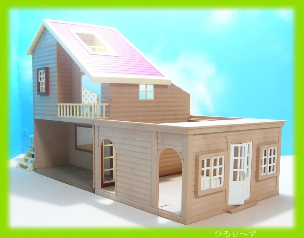 繋がる 赤い屋根の大きなお家 13