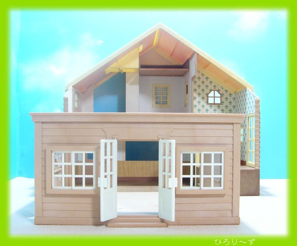 繋がる 赤い屋根の大きなお家 14